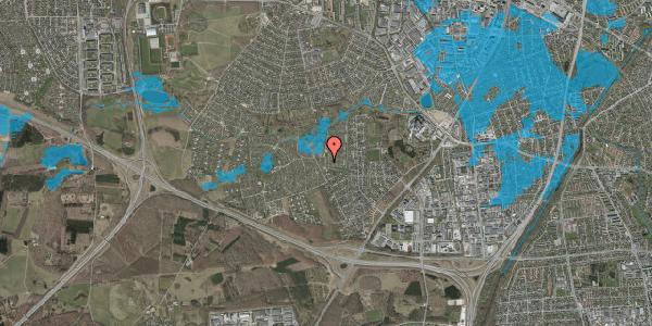 Oversvømmelsesrisiko fra vandløb på Vængedalen 108, 2600 Glostrup