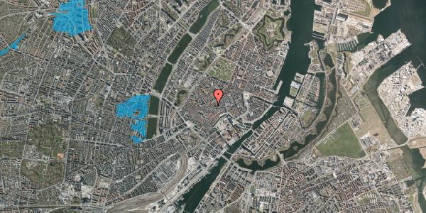 Oversvømmelsesrisiko fra vandløb på Klosterstræde 10A, 1157 København K