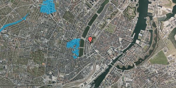 Oversvømmelsesrisiko fra vandløb på Dahlerupsgade 4, 1603 København V