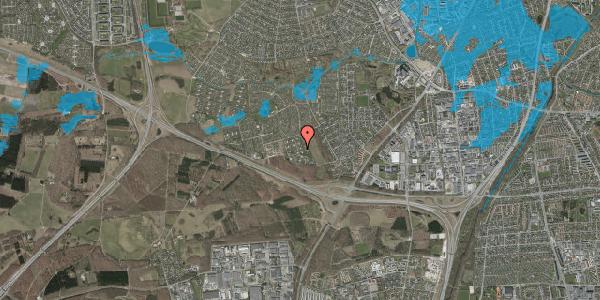 Oversvømmelsesrisiko fra vandløb på Kamillevænget 45, 2600 Glostrup