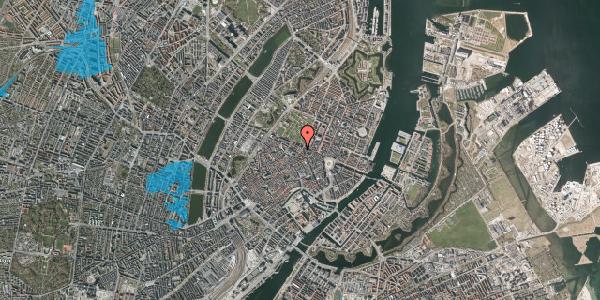 Oversvømmelsesrisiko fra vandløb på Møntergade 19B, 1116 København K