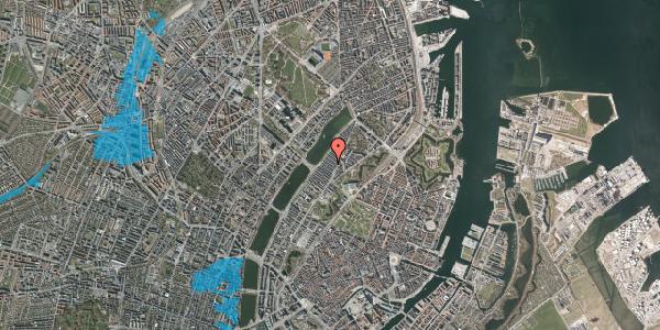Oversvømmelsesrisiko fra vandløb på Abildgaardsgade 21, 2100 København Ø
