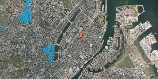Oversvømmelsesrisiko fra vandløb på Gothersgade 101C, 1. tv, 1123 København K