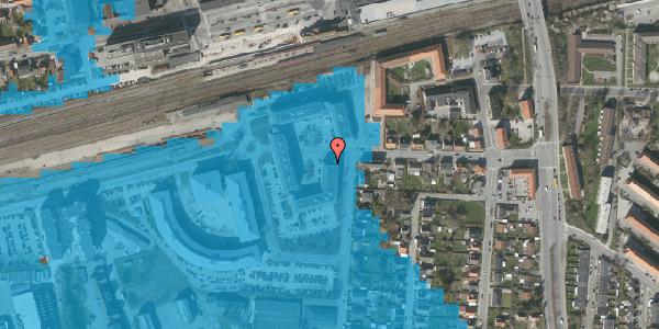 Oversvømmelsesrisiko fra vandløb på Stationsparken 21, st. , 2600 Glostrup