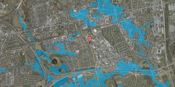 Oversvømmelsesrisiko fra vandløb på Firkløverparken 29, 2625 Vallensbæk