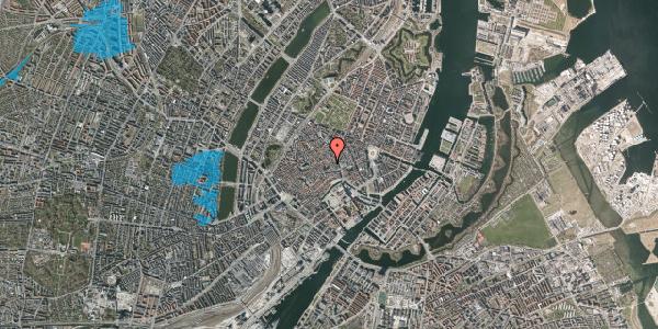 Oversvømmelsesrisiko fra vandløb på Niels Hemmingsens Gade 20A, 1153 København K