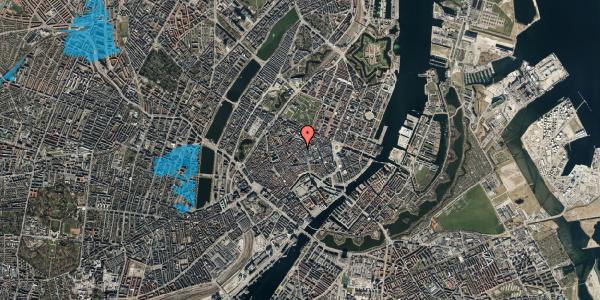 Oversvømmelsesrisiko fra vandløb på Købmagergade 33, 2. , 1150 København K