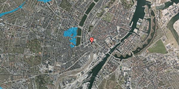 Oversvømmelsesrisiko fra vandløb på Vesterbrogade 3B, 1620 København V