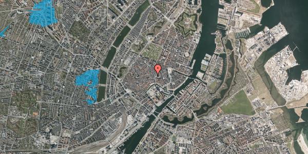 Oversvømmelsesrisiko fra vandløb på Købmagergade 3, 1. , 1150 København K