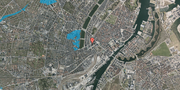Oversvømmelsesrisiko fra vandløb på Ved Vesterport 3, 4. , 1612 København V