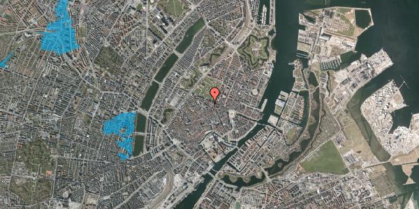 Oversvømmelsesrisiko fra vandløb på Sjæleboderne 2, 3. th, 1122 København K