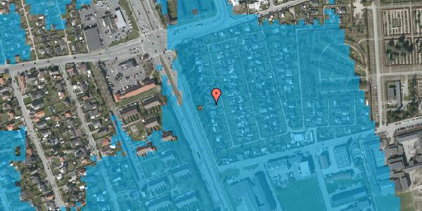 Oversvømmelsesrisiko fra vandløb på Hf. Svarø 25, 2650 Hvidovre
