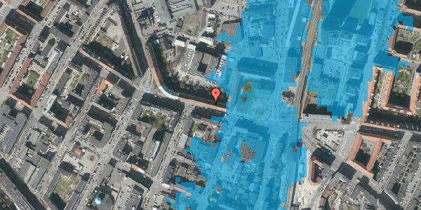 Oversvømmelsesrisiko fra vandløb på Frederikssundsvej 18, 2400 København NV