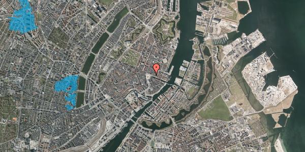 Oversvømmelsesrisiko fra vandløb på Nyhavn 1F, 1051 København K