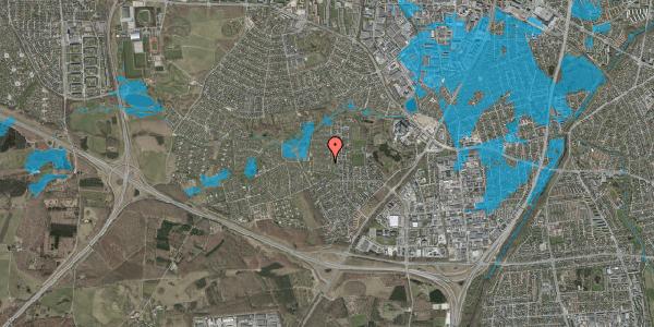 Oversvømmelsesrisiko fra vandløb på Vængedalen 306, 2600 Glostrup