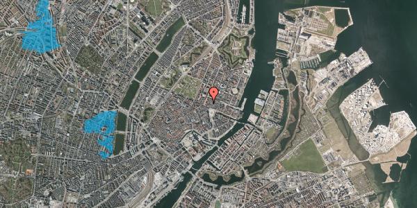 Oversvømmelsesrisiko fra vandløb på Gothersgade 8L, 1. , 1123 København K
