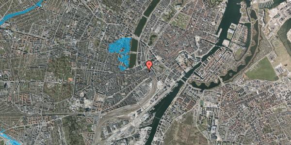 Oversvømmelsesrisiko fra vandløb på Reventlowsgade 10A, 5. tv, 1651 København V