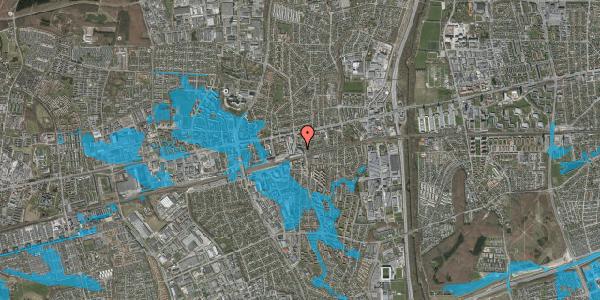 Oversvømmelsesrisiko fra vandløb på Østbrovej 2E, 2. 4, 2600 Glostrup