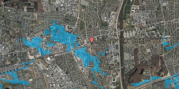 Oversvømmelsesrisiko fra vandløb på Østbrovej 6, 5. 3, 2600 Glostrup