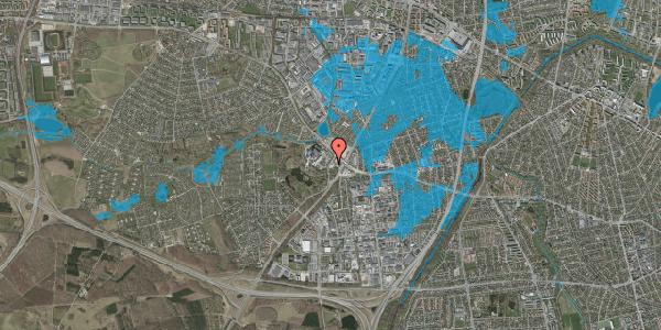 Oversvømmelsesrisiko fra vandløb på Ejby Mosevej 208, 2600 Glostrup