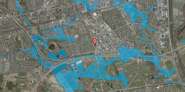 Oversvømmelsesrisiko fra vandløb på Syvhøjvænge 108C, 2625 Vallensbæk