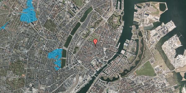 Oversvømmelsesrisiko fra vandløb på Pilestræde 58, st. , 1112 København K