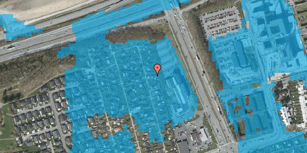 Oversvømmelsesrisiko fra vandløb på Hf. Kettehøj 114, 2650 Hvidovre
