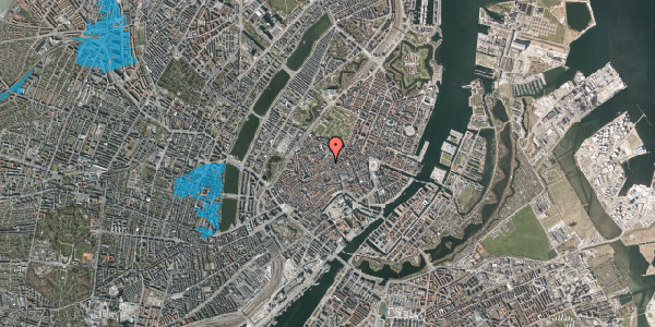 Oversvømmelsesrisiko fra vandløb på Købmagergade 46, st. , 1150 København K