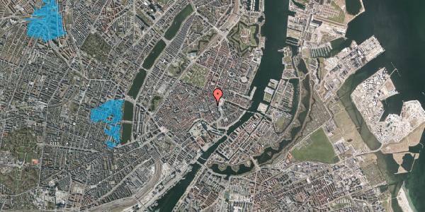 Oversvømmelsesrisiko fra vandløb på Lille Kongensgade 16C, 3. , 1074 København K