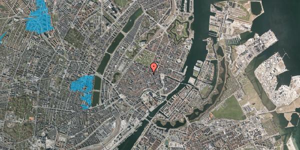 Oversvømmelsesrisiko fra vandløb på Sværtegade 8, 2. , 1118 København K