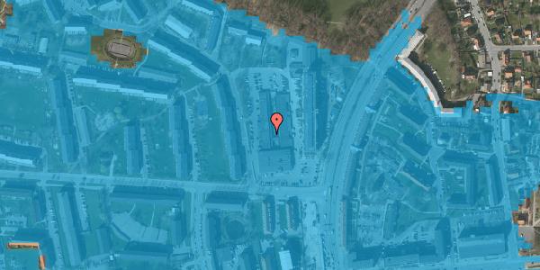 Oversvømmelsesrisiko fra vandløb på Diget 66, 2600 Glostrup