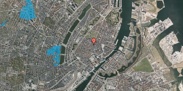 Oversvømmelsesrisiko fra vandløb på Klareboderne 3, 1. , 1115 København K