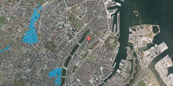 Oversvømmelsesrisiko fra vandløb på Wilhelm Marstrands Gade 1, 2100 København Ø