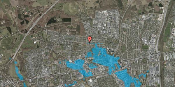 Oversvømmelsesrisiko fra vandløb på Tjørnehusene 2, 2600 Glostrup