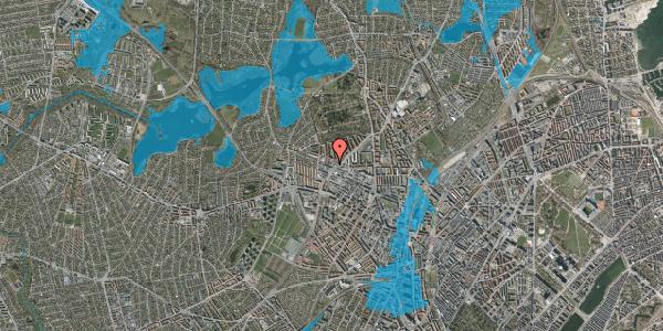 Oversvømmelsesrisiko fra vandløb på Dortheavej 32, 1. 1, 2400 København NV