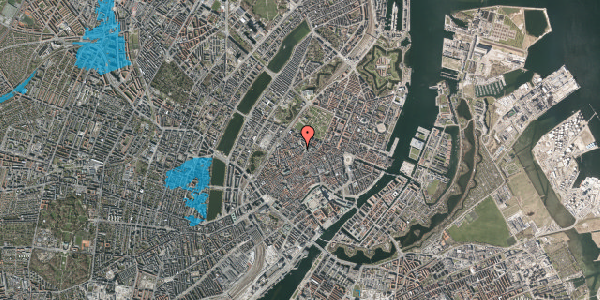 Oversvømmelsesrisiko fra vandløb på Landemærket 9B, 2. , 1119 København K