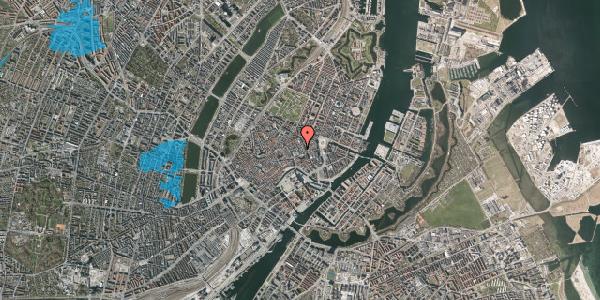 Oversvømmelsesrisiko fra vandløb på Pilestræde 8B, 1112 København K