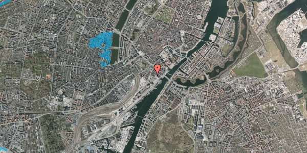 Oversvømmelsesrisiko fra vandløb på Otto Mønsteds Gade 4, 1571 København V