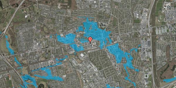 Oversvømmelsesrisiko fra vandløb på Hermods Allé 11, 2600 Glostrup
