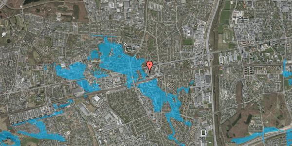 Oversvømmelsesrisiko fra vandløb på Rådhusparken 6A, 2600 Glostrup