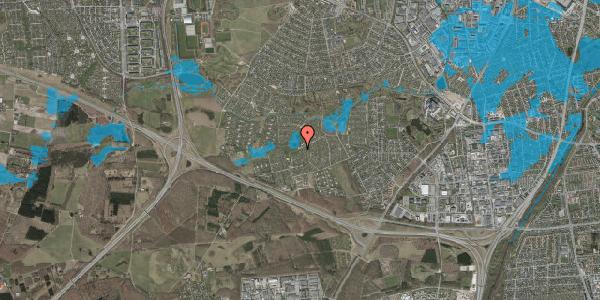 Oversvømmelsesrisiko fra vandløb på Dührings Plads 2, 2600 Glostrup