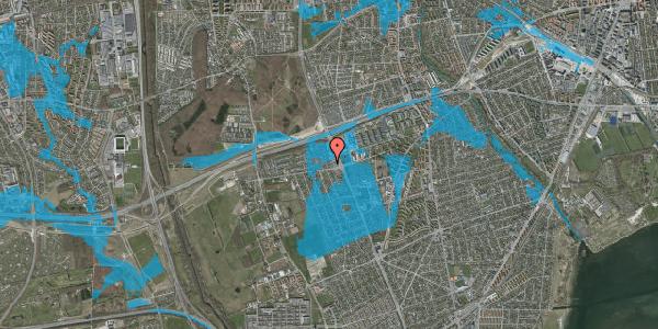 Oversvømmelsesrisiko fra vandløb på Hf. Kettehøj 126, 2650 Hvidovre