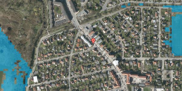 Oversvømmelsesrisiko fra vandløb på Frederiksborgvej 209A, 2400 København NV