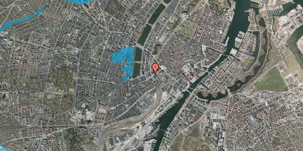 Oversvømmelsesrisiko fra vandløb på Vesterbrogade 6C, 1. , 1620 København V