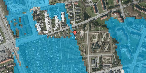 Oversvømmelsesrisiko fra vandløb på Hf. Svarø 114, 2650 Hvidovre