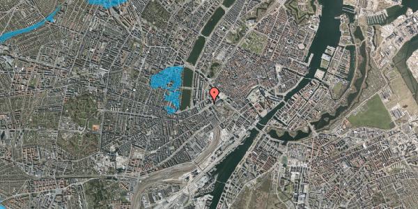 Oversvømmelsesrisiko fra vandløb på Vesterbrogade 4B, 1620 København V