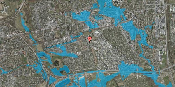 Oversvømmelsesrisiko fra vandløb på Firkløverparken 1, st. th, 2625 Vallensbæk