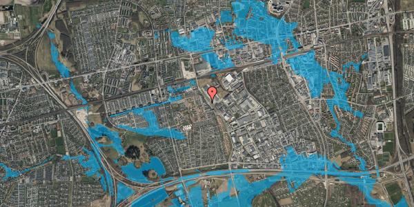 Oversvømmelsesrisiko fra vandløb på Firkløverparken 2, 1. tv, 2625 Vallensbæk