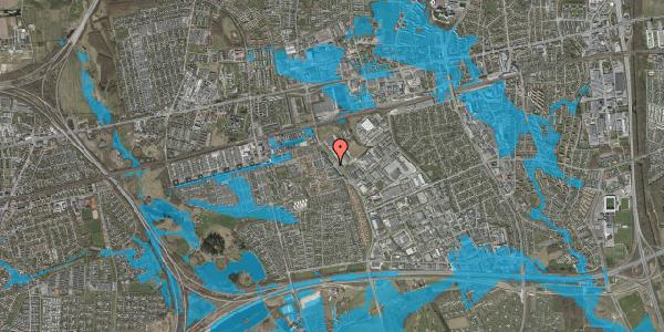 Oversvømmelsesrisiko fra vandløb på Firkløverparken 2, 2. tv, 2625 Vallensbæk
