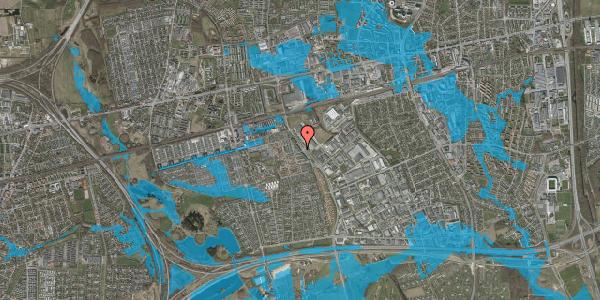 Oversvømmelsesrisiko fra vandløb på Firkløverparken 4, st. th, 2625 Vallensbæk